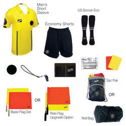 new referee uniform kit